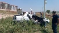 KOZLUCA - Trafik Kazasında Karnındaki Bebeğiyle Can Verdi