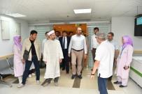 MEKKE - Adalet Bakanı Gül Ve Diyanet İşleri Başkanı Erbaş, Diyanet Mekke Hastanesini Ziyaret Etti