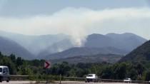 YANGIN HELİKOPTERİ - Bartın'da Orman Yangını