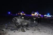 Bayram Ziyaretinden Dönen Aile Kaza Yaptı Açıklaması 6 Yaralı