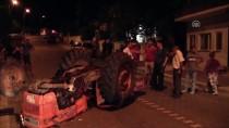 Bayramiç'te Traktör Devrildi Açıklaması 1 Yaralı