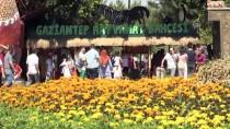 GAZİANTEP HAYVANAT BAHÇESİ - Gaziantep Hayvanat Bahçesi'nde Bayram Yoğunluğu