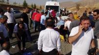 Gercüş'te Trafik Kazası Açıklaması 4 Yaralı