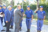 BAYRAM ZİYARETİ - İkiz Kardeşler Aynı Karakolda Askerlik Yapıyor