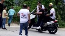 TAHTA ARABA - Kenan Sofuoğlu, Tahta Araba Şenliği'nde Hafif Yaralandı