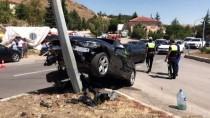 HASANDEDE - Kırıkkale'de İki Otomobil Çarpıştı Açıklaması 4 Yaralı