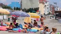 MÜREFTE - Mavi Bayraklı Plajlarda Bayram Hareketliliği