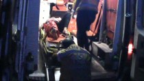 KıRıM - Motosikletle Otomobil Çarpıştı Açıklaması 10 Yaralı
