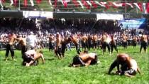 İBRAHİM SADIK EDİS - Samsun'da 14. Kunduz Yağlı Güreşleri Yapıldı