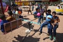 AFRİN - Savaşın Çocukları 'Bayram Şenliği'nde Doyasıya Eğlendi