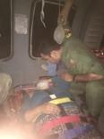 YARDIM TALEBİ - TSK'ya Ait Helikopter Kayalıklardan Düşen Vatandaşı Tahliye Etti