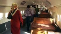 YOLCU UÇAĞI - Uçaktaki 'Millet Kıraathanesi'nde Bayram Yoğunluğu