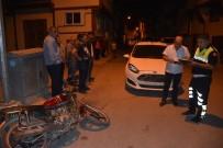 Alkollü Motosiklet Sürücüsü Kaza Yaptı Açıklaması 1 Yaralı