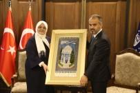 Başkan Aktaş'tan Bakan Selçuk'a Bursa İşi İpek Tablo