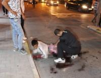 Bıçaklanan İki Kardeş Kanlar İçinde Yerde Kaldı