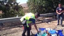 Çorum'da İki Otomobil Çarpıştı Açıklaması 9 Yaralı