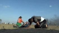 TOPRAK GÜNÜ - GÜNCELLEME - İsrail Askerleri Gazze Sınırında 50 Filistinliyi Yaraladı