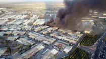 DEKORASYON - GÜNCELLEME - Konya'da Mobilya Dekorasyon Fabrikasında Yangın