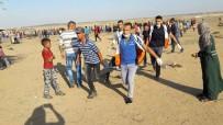 TOPRAK GÜNÜ - İsrail Askerleri Gazze Sınırında 189 Filistinliyi Yaraladı