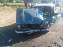 Kastamonu'da İki Otomobil Çarpıştı Açıklaması 6 Yaralı