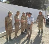 Kaymakam Özkan'dan Güvenlik Güçlerine Bayram Ziyareti