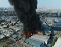 DEKORASYON - Konya'da fabrikada yangın!
