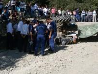 Sinop'ta Traktör Kazası Açıklaması 1 Ölü