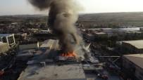 HADıMKÖY - Arnavutköy'deki Fabrika Yangını Kontrol Altına Alındı
