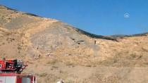 Hakkari'de Dağlık Alanda Yangın