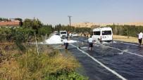Nusaybin'de İçme Suyu Borusu Patladı