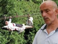 KABIL - Rize'de korkunç olay! Hızla zemine çarptı