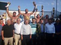 İSMAİL BALABAN - Sancaktepe'de Başpehlivan Ali Gürbüz Oldu