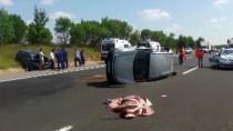 MEHMET METIN - Tekirdağ'da Trafik Kazası Açıklaması 2 Ölü, 4 Yaralı
