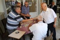 BAYRAM ZİYARETİ - Başkan Fethi Yaşar Vatandaşla Ve Esnafla Bayramlaştı