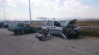 Bolu'da Zincirleme Trafik Kazası Açıklaması 1 Ölü, 5 Yaralı