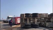 Bursa'da Kamyon Devrildi Açıklaması 1 Ölü