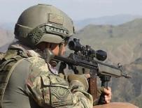 Ağrı'da gri listedeki terörist öldürüldü