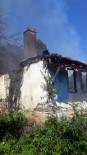 Kumru'da Ev Yangını
