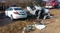 Yozgat'ta Otomobiller Çarpıştı Açıklaması 1 Ölü, 7 Yaralı