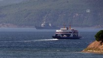 MARMARA DENIZI - ABD Askeri Gemisi Çanakkale Boğazı'ndan Geçti
