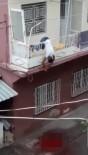 BELDEN - Eşini Ve Kendini Vurduktan Sonra Balkon Korkuluğunda Asılı Kaldı