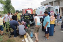 FEVZIPAŞA - Feci Kazada Ağır Yaralanan Sürücü Hayatını Kaybetti