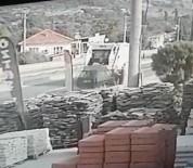 ÇARPMA ANI - İki Temizlik İşçisinin Ağır Yaralandığı Korkunç Kaza Kameralarda
