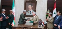 SURIYE DEVLET BAŞKANı - İran Ve Suriye'den Askeri Alanda İşbirliği