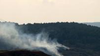 ÇAVUŞBAŞı - İstanbul'da Askeri Alanda Orman Yangını Çıktı