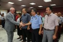 BAYRAMLAŞMA - Kazım Kurt Belediye Çalışanları İle Bayramlaştı