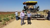 Köy Yollarının Asfaltlanma Çalışları Sürüyor