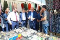 BAYRAMLAŞMA - Milletvekili Yediyıldız Pazar Yerini Gezdi