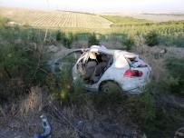 Niğde'de Otomobil Takla Attı Açıklaması 3'Ü Çocuk 5 Yaralı