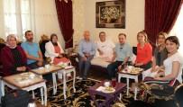 TAKVA - Yaman Hasar'dan Başkan Takva'ya Geçmiş Olsun Ziyareti